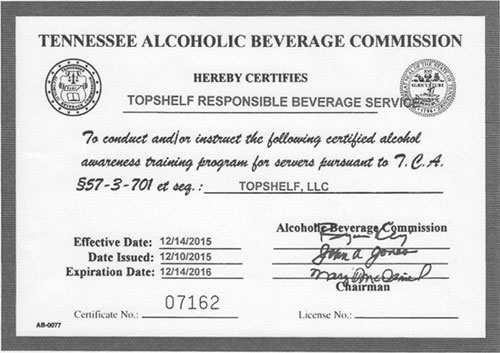 How To Get A Food Permit In Tennessee